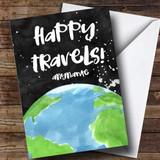 Customised Happy Travels World Bon Voyage Travel Card