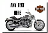 Harley Davidson Motorbike Magnet