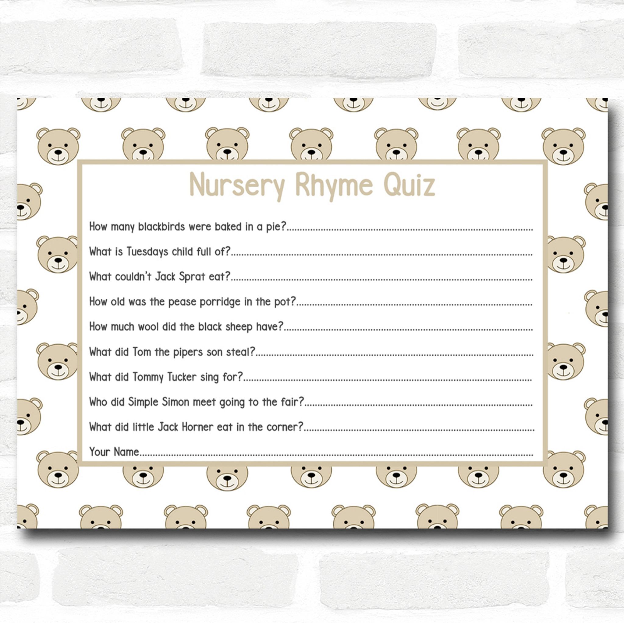 Maternity/Pregnancy Baby research.unir.net 16 A6 Party Cards Baby ...