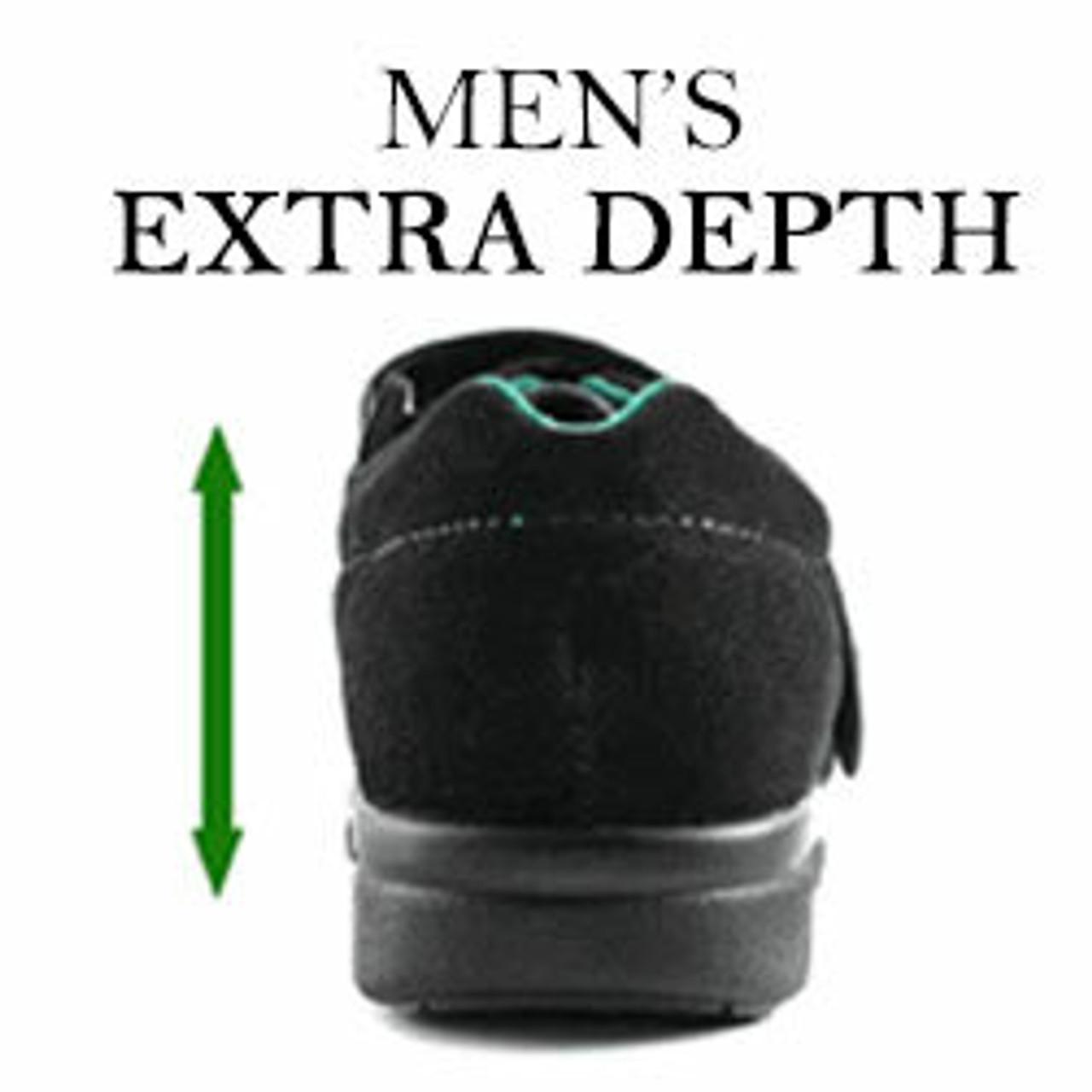Extra Depth Orhtopedic Shoes for Men