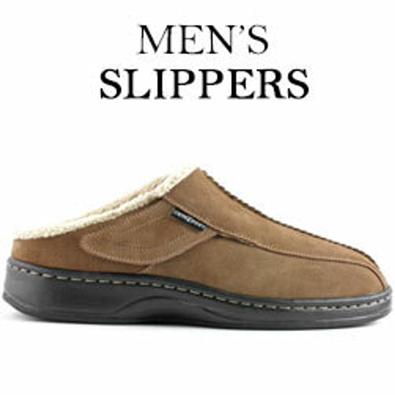 Mens Orthopedic House Shoes | Mens House Slippers