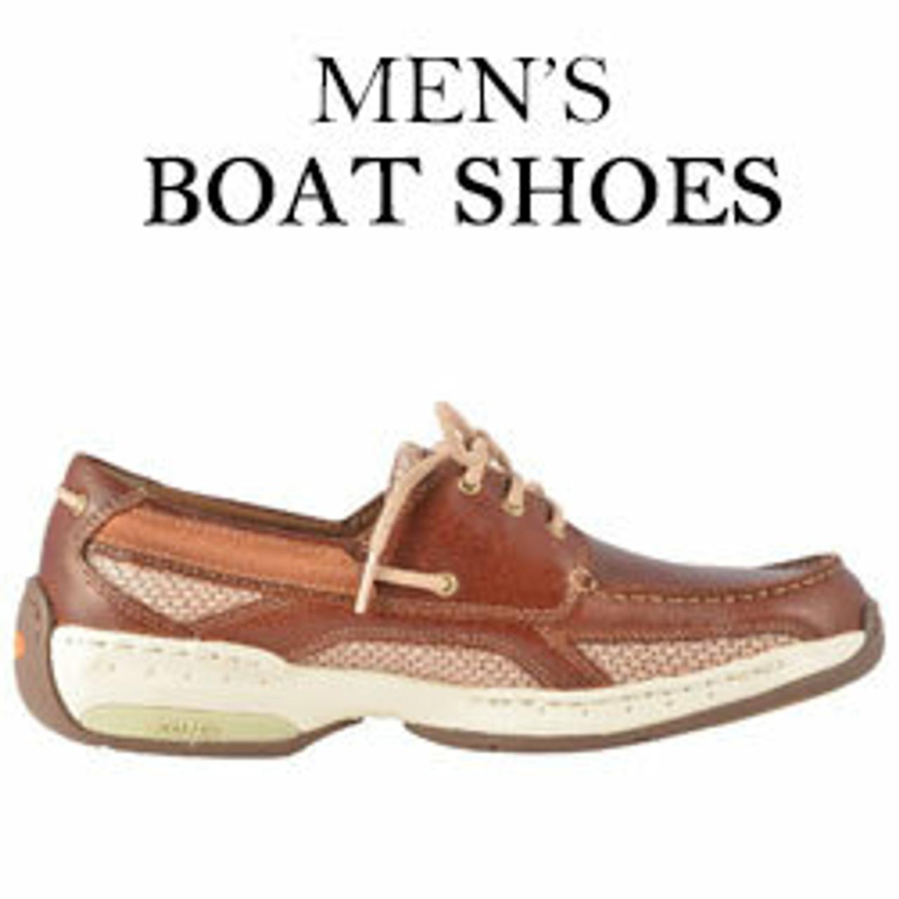 Orthopedic Boat Shoes For Men |  Mens Deck Shoes
