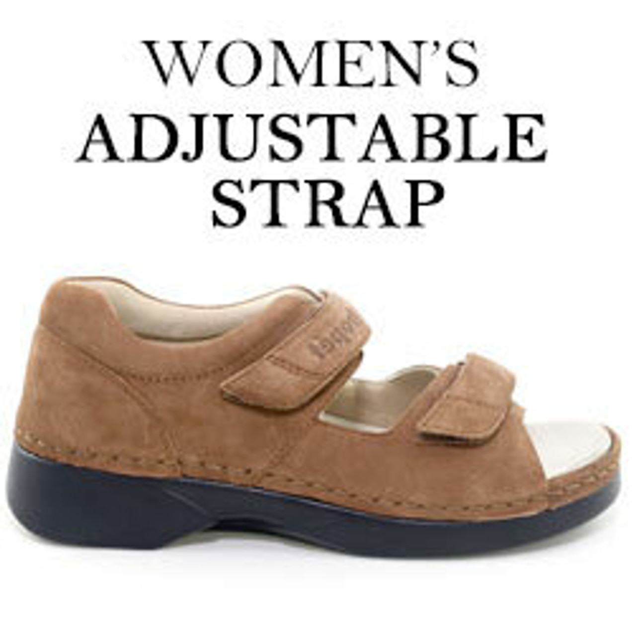 Adjustable Sandals, Slippers & Boots for Women