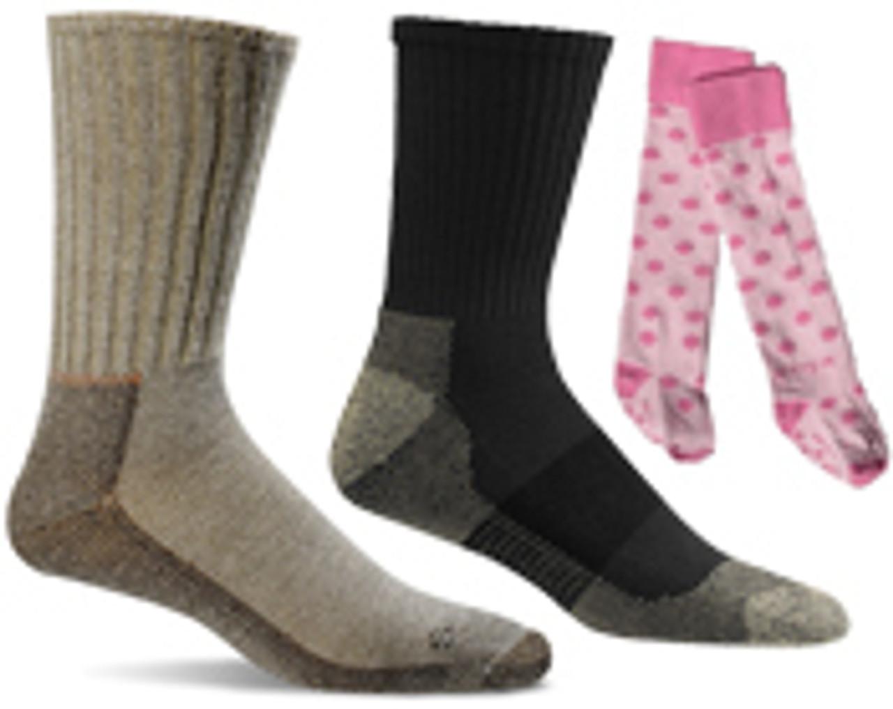 Socks, Compression Socks, and Diabetic Socks