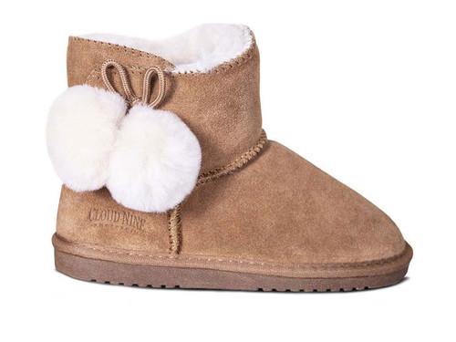 Cloud Nine Sheepskin Pom-Pom - Children's Boot