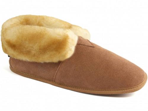 Cloud Nine Sheepskin Soft Sole Booties - Men's Slippers