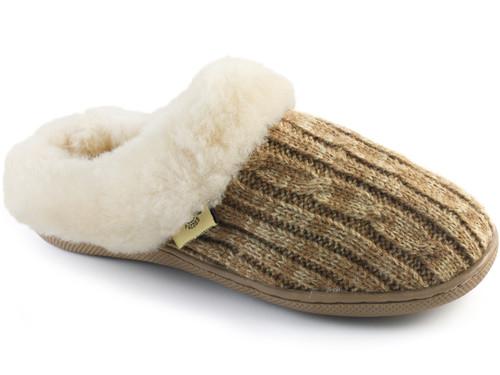 Cloud Nine Sheepskin Crochet Clog - Women's Slipper