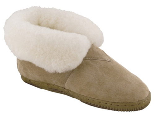 Old Friend Bootee - Women's Sheepskin Slippers