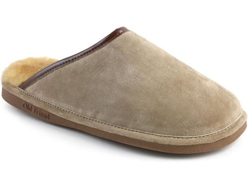 Old Friend Men's Scuff - Sheepskin Slipper