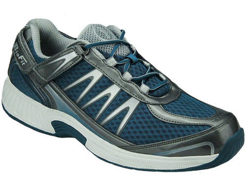 Orthofeet Sprint - Men's Tie-Less Athletic Shoes