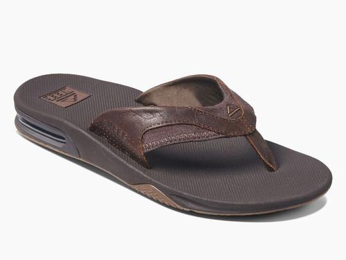 Reef Leather Fanning - Men's Sandal
