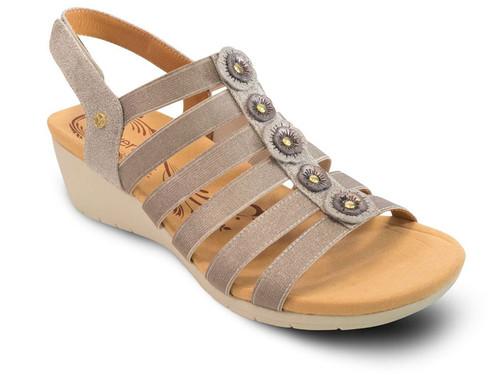 Revere Bari Floral - Women's Sandal
