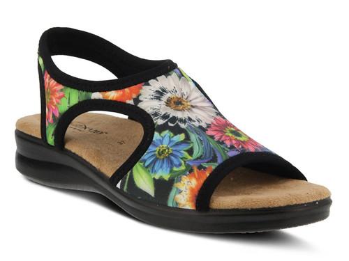 Flexus by Spring Step Nyaman-Bouquet - Women's Sandal