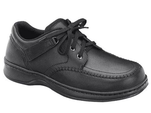 Orthofeet Jackson Square - Men's Tie-Less Dress Shoe