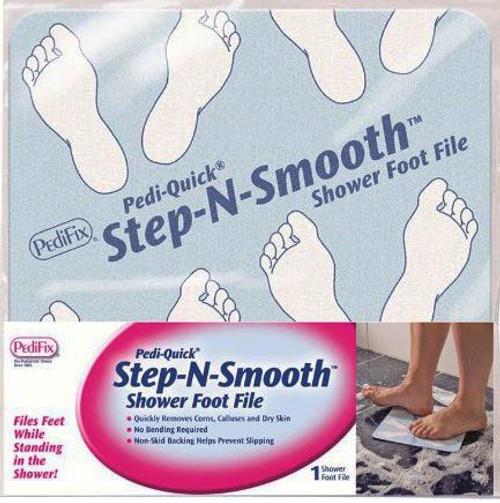 PediFix Pedi Quick Step-N-Smooth - Shower Foot File