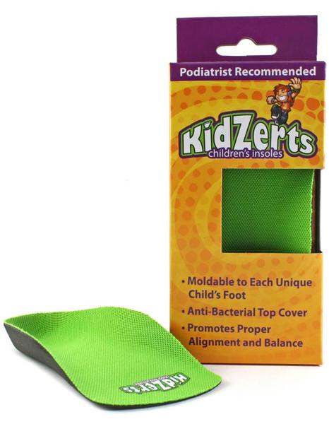 KidZerts Children's 3/4 - Arch Support Insoles