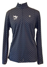 Ariat Sunstopper 1/4 Zip (available in navy and navy dot)