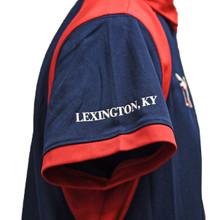 Lexington, KY on right sleeve