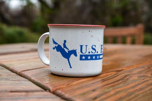 U.S. Eventing Campfire Mug