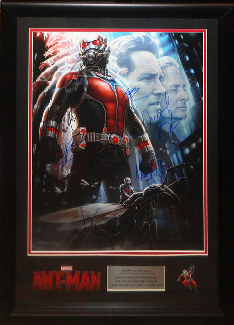 Ant-Man Large Cast Autographed Photo