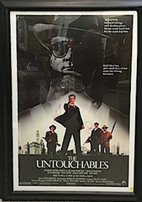 The Untouchables Signed Poster By 3