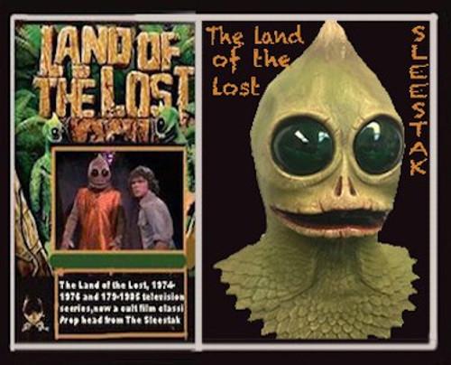 Land Of The Lost Sleestak Mask
