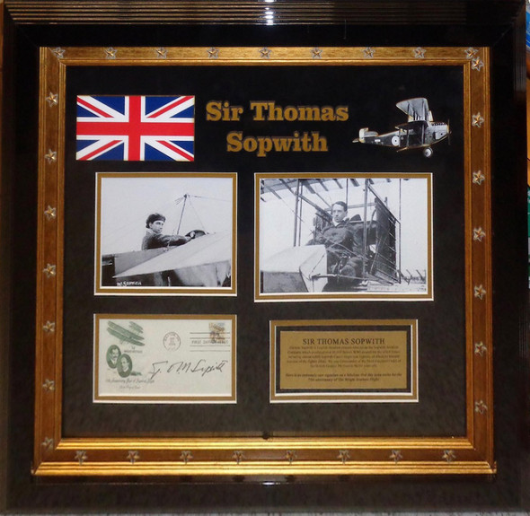 Sir Thomas Sopwith Original Signature