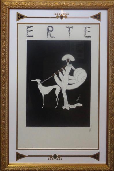 Erte Signed Print