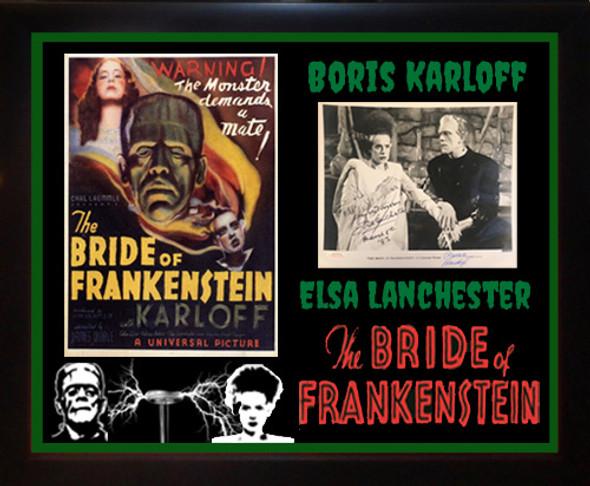 Bride Of Frankenstein Signed Photo By 2