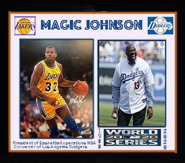 Magic Johnson Signed Photo