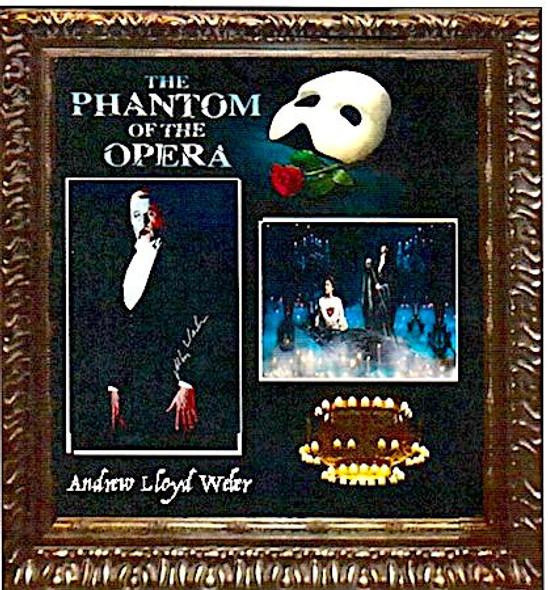 Phantom of The Opera Signed Photo