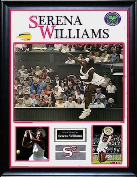 Serena Williams Signed Photo