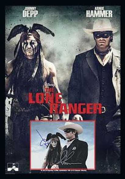 The Lone Ranger Autographed Photo