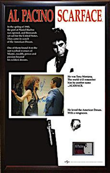 Scarface Autographed Poster
