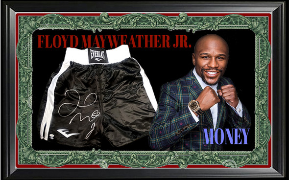 "Floyd ""MONEY"" Mayweather Jr."