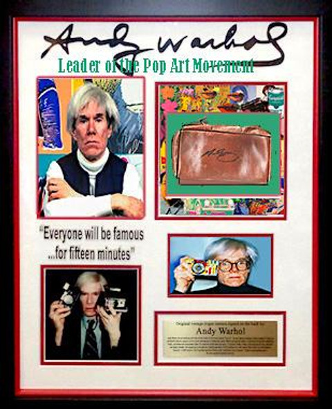 Andy Warhol  Argus camera leather case