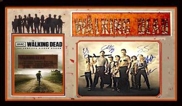 Walking Dead Cast Signed Photo