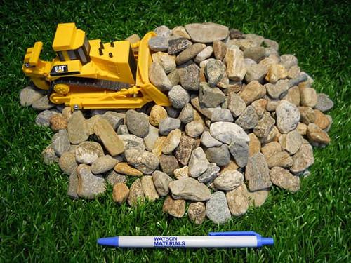 """3/4"""" Natural Round Stone"""