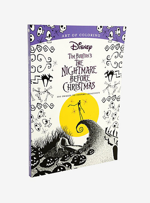 The Nightmare Before Christmas Art Of Coloring Book