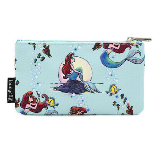 Ariel Disney's the Little Mermaid Sea Foam Pencil Case