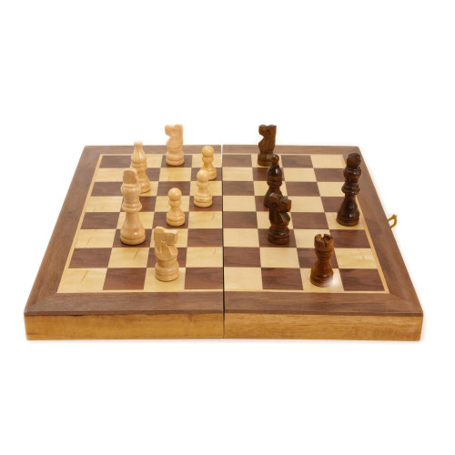 Chess Folding Wooden Classic Board Game