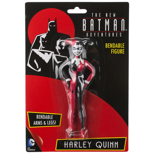 Harley Quinn Batman the Animated Series Bendable Action Figure