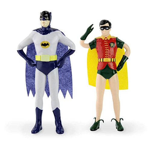 Batman and Robin TV Series Bendable Pair Action Figures