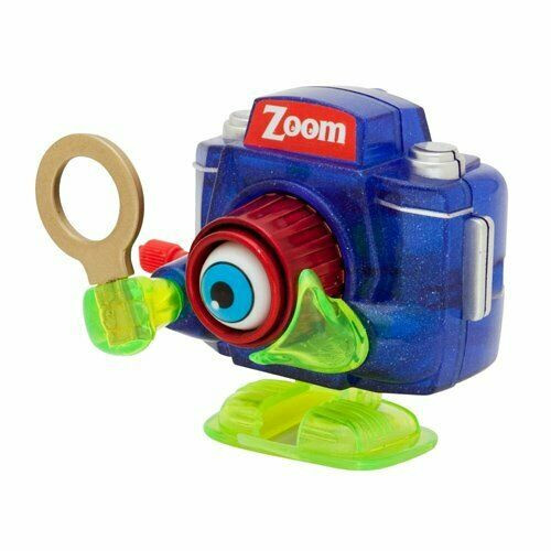 Zoom Blue Camera Wind Up