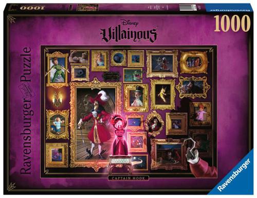 Disney Villainous Captain Hook 1000 Piece Puzzle