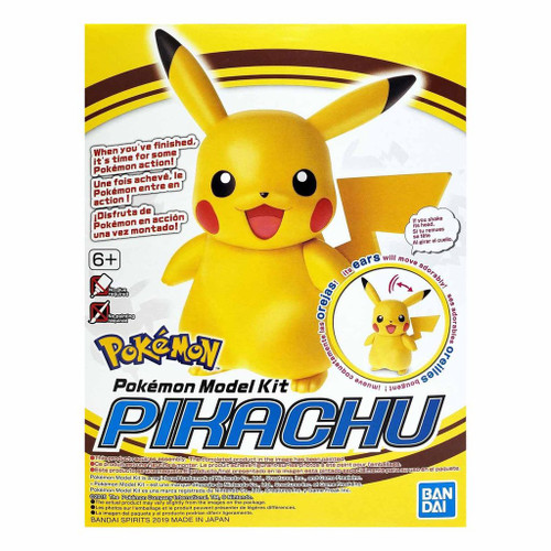 Pikachu Pokemon Model Kit