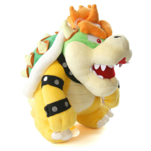 Bowser Super Mario 16 in Plush