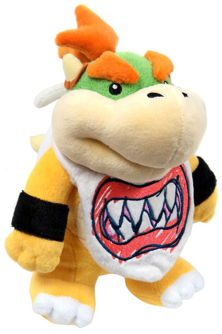 Bowser Junior Super Mario 9in Allstar Collection Plush