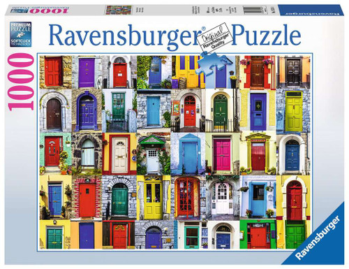 Doors of the World 1000 Piece Puzzle