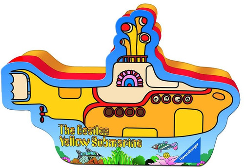 Yellow Submarine Shaped Box